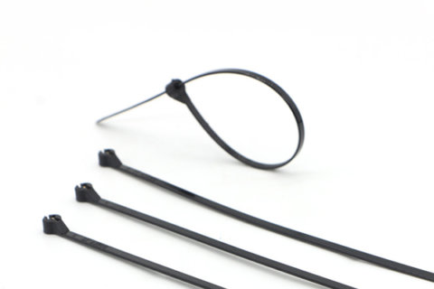 Black Plastic Cable Ties